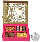 Chocholik Belgium Chocolates - Lovely Collection Of Almonds, Truffles, Butterscotch And Baklava Gift Box With... - B015R9VLBK