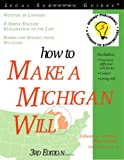How to Make a Michigan Will, 3E