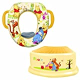 Disney Soft Potty and Step Stool Combo Set, Winnie the Pooh