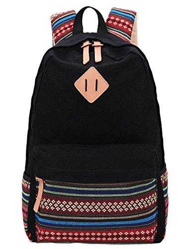 Zip  Boho Style Backpack