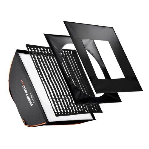 walimex pro 60x60cm Aurora/Bowens Softbox PLUS - Orange Line