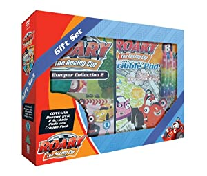 Roary the Racing Car Gift Set - Bumper Collection 2 (with Scribble Pads and Crayons)  [DVD]