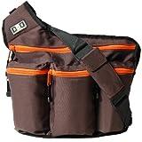 Diaper Dude - Messenger I Diaper Bag, Brown