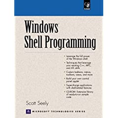 Windows Shell Programming (Prentice Hall Ptr Microsoft Technologies Series)