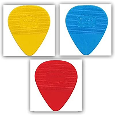 Herdim Nylon Plectrums 10-Pack