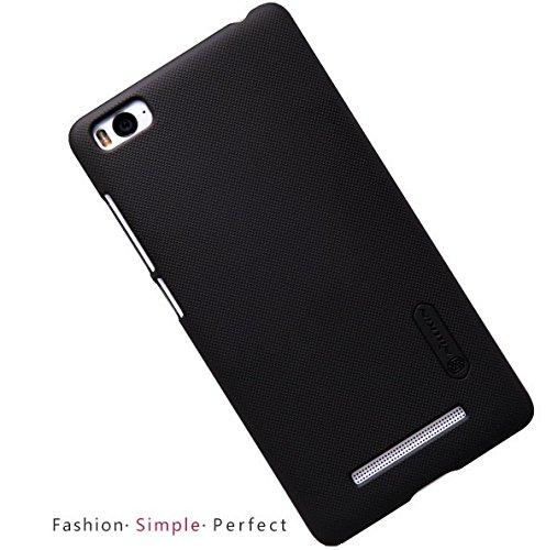 NILLKIN FROST Shield Hard Dotted Bumper Back Case Cover, Free Screen Guard For Xiaomi Mi 4i (Mi4i) - BLACK