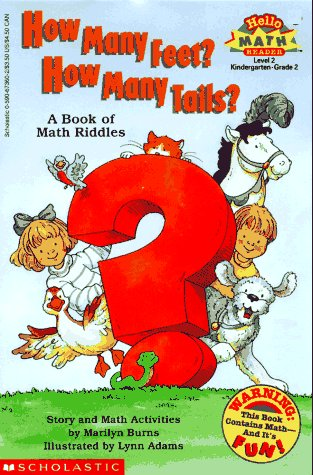 How Many Feet? How Many Tails?: A Book of Math Riddles (Hello Math Reader. Level 2)