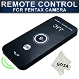 51RVDn6B2EL. SL160  IR Wireless Remote Control for Pentax S S6 S7 K10D K100D K X K7 K200D K2000 K20D, OPTIO SV 750Z 550 450 330 + Premium Goja Microfiber Cleaning Cloth