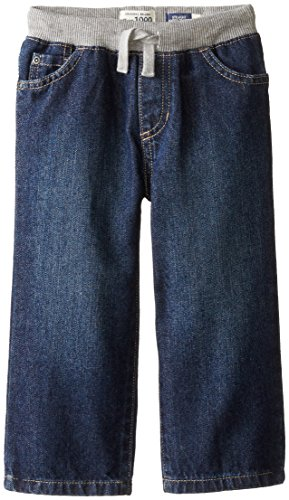 The Children's Place Little Boys and Toddler Pull-On Jean, Liberty Blue, 4T (4t Boys Pants compare prices)