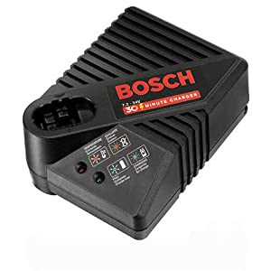 See Bosch BC130 9-3/5-to-24-Volt Stick and Pod Style 30-Minute Battery Charger Full size and View details