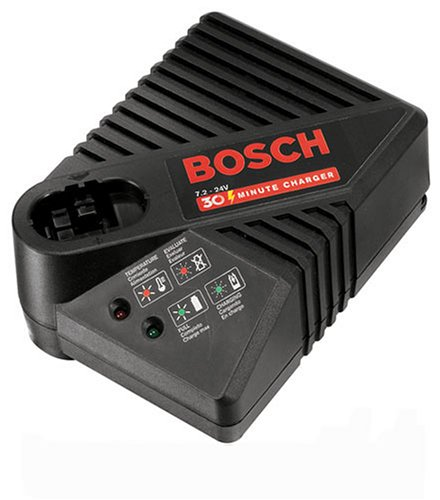 Bosch BC130 9-3/5-to-24-Volt Stick and Pod Style 30-Minute Battery Charger (Bosch Battery 24v compare prices)