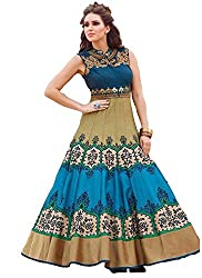 Style Shop Designer Collection Women Georgette Attractive Gown ( Free Size )