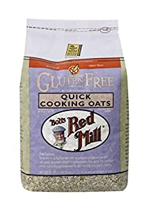 Bob's Red Mill Gluten Free Quick Cooking Oats, 32-Ounce Bags (pack of 8)