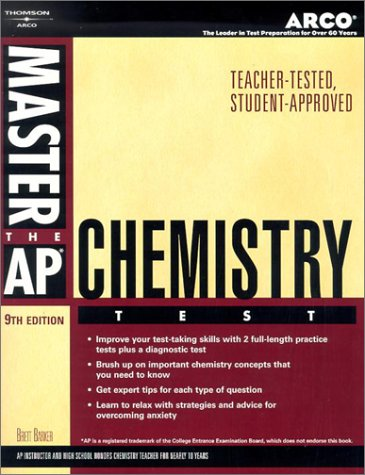 Master Ap Chemistry, 9Th Ed (Master The Ap Chemistry Test)