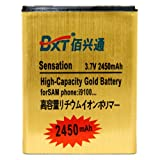 Baoxin Brand New design, High Capacity 2450mAh Standard Backup Spare Extra Power Battery for samsung Galaxy S2 Samsung T989, AT&T Samsung Galaxy S2 II Skyrocket Samsung SGH-I727, Verizon Samsung Galaxy Nexus Samsung I515,Telus Samsung Galaxy S2 II X Sams