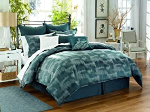 Tommy Bahama Indigo Ombre Cotton Sheet Set, Queen