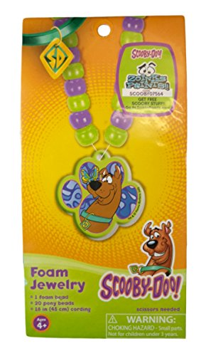 Colorbok Scooby-Doo Foam Jewelry Kit