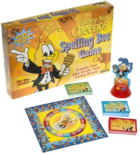 Honey Nut Cheerios Spelling Bee Game - 1