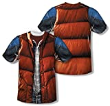 Youth: Back to the Future - Mcfly Vest Kids T-Shirt Size YM