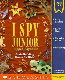 I Spy Junior & Jr. Puppet Playhouse (Ages 3-5)