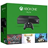 Xbox One 1TB Console - 3 Games Holiday Bundle (Gears of War: Ultimate Edition + Rare Replay + Orid and the Blind Forest)