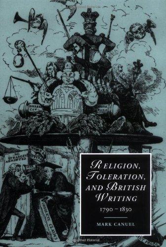Religion, Toleration, and British Writing, 1790-1830 (Cambridge Studies in Romanticism)