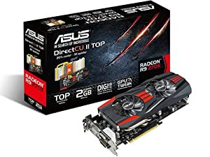 ASUS R9270X-DC2T-2GD5 Graphics Cards R9270X-DC2T-2GD5