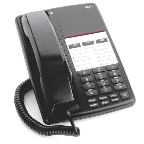 Doro AUB 200 Business Telephone - Black picture