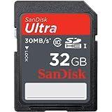 SanDisk Class 10 Ultra SD 32GB Memory Card (SDSDU-032G-A11)