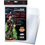 Ultra Pro Resealable Current Size Comic Bags (Pack of 100)