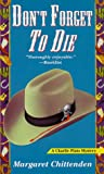 img - for Don't Forget to Die (A Charlie Plato Mystery) book / textbook / text book