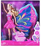 Barbie Year 2009 Fairy Series 12 Inch Tall Doll : Fairy-tastic Princess with Hairbrush and Fairy Wings That Changed to Princess Gown (T4552)