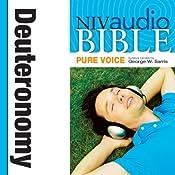 NIV Audio Bible, Pure Voice: Deuteronomy   [Zondervan Bibles]