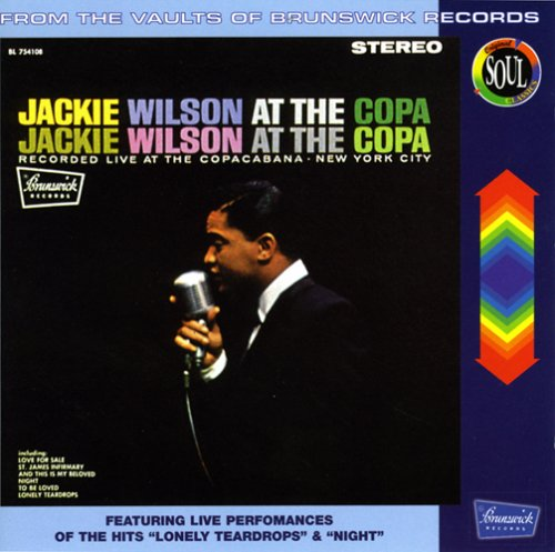Jackie Wilson at the Copa by Jackie Wilson