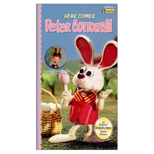 Amazon.com: Here Comes Peter Cottontail [VHS]: Danny Kaye, Paul Frees