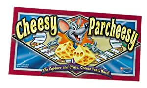 Cheesy Parcheesy Board Game