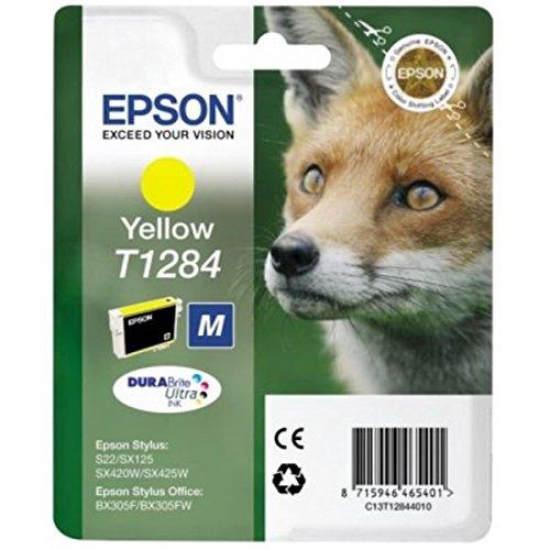 Epson Tintenpatrone T1284, Singlepack, gelb