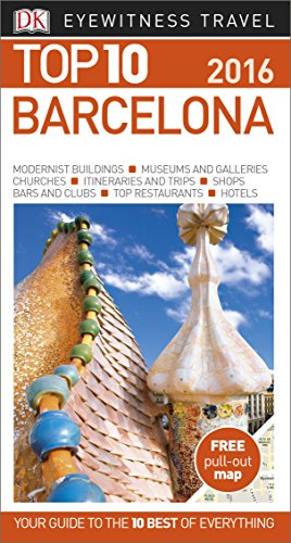 Barcelona. Top 10 Eyewitness Travel Guide (Eyewitness Top 10)