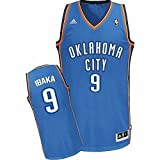 Maillot NBA Oklahoma City Serge Ibaka Bleu Taille XS