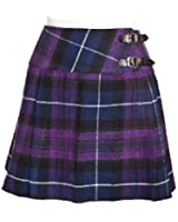 New Ladies Pride of Scotland Tartan Scottish Mini Billie Kilt Skirt Sizes 8-18