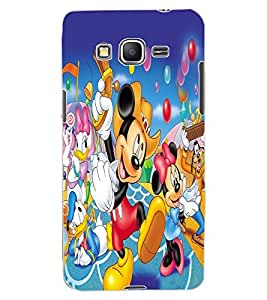 ColourCraft Lovely Cartoon Character Design Back Case Cover for SAMSUNG GALAXY GRAND PRIME DUOS TV G530BT
