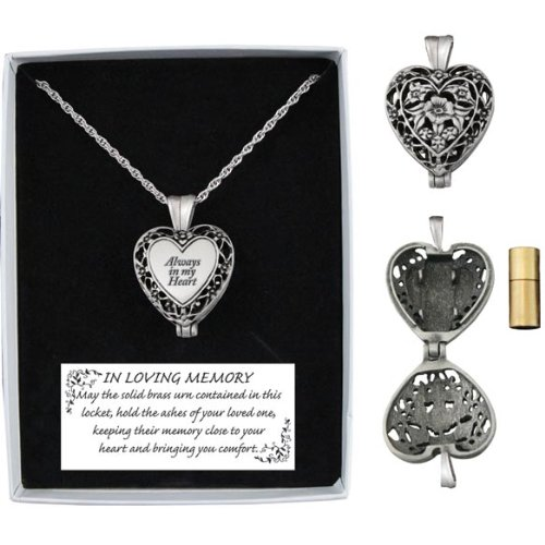 Memorial Urn Locket 