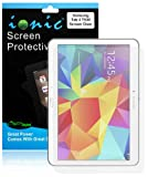Ionic 2014 Samsung Galaxy Tab 4 10.1 10-Inch Screen Protector Film Clear (Invisible) (3-pack)[Lifetime Replacement Warranty]