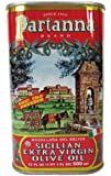 Partanna Brand Sicilian Extra Virgin Olive Oil 17 oz. Tin 12 pack