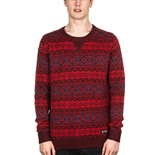 Element Norman Crew Wine Red Large
