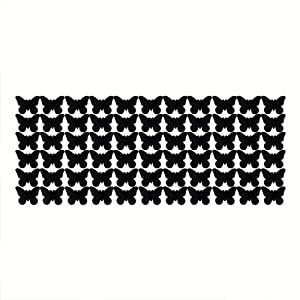 fitTek® Pegatina Adhesivo vinilo decorativo pared 66 Mariposa 25*60CM   revisión