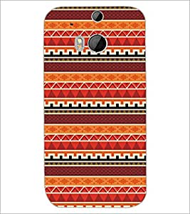 HTC ONE M8 PATTERN Designer Back Cover Case By PRINTSWAG