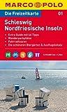 MARCO POLO Freizeitkarte Schleswig, Nordfriesische Inseln 1:110.000