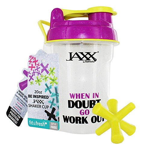 fit-fresh-jaxx-glitter-shaker-cup-when-in-doubt-20-oz
