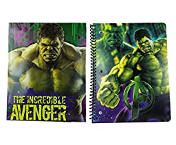 Marvel Avengers Hulk Notebook and Folder Set (2 Pieces)